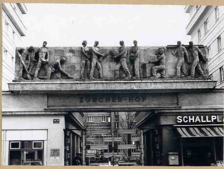 13. Vienna - Zurcherhof - Worker Frieze by Siegfried Charoux, 1930